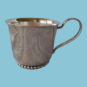 Vintage Silver Plate Baby Cup