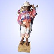 Peddler Man from Guatemala, Vintage 1980's