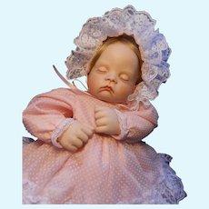 Artist Made Sleeping Baby Doll--Newborn Size