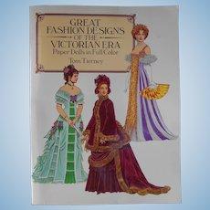 Great Fashion Designs of the Victorian Era Paper Dolls--1987--Dover