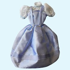 """Dorothy Dress from Wizard of Oz fits Barbie, other 11-12"""" Dolls"""