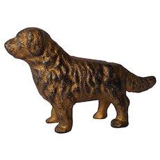 Cast Iron Newfoundland Dog Bank