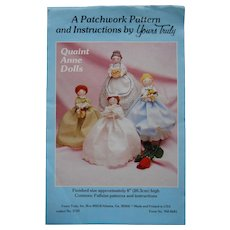 "Vintage Pattern for Dolls and Clothes from ""Yours Truly"""