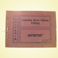 "Rare 1902 Souvenir Photo Book ""Columbia River Salmon Fishing"" by J.F. Ford"