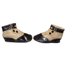 Early 1900's Child's High Top Button Shoes Doll Shoes