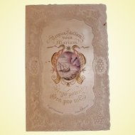 1849 Civil War Union Activist Memento of Archbishop John B. Purcell