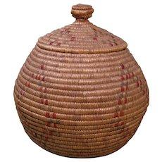 Eskimo Basket, Diamond Design, Early to Mid 1900s
