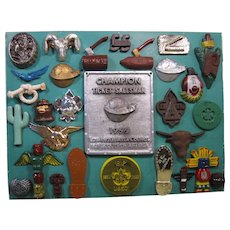 1950s Boy Scout Memorabilia Collection, 29 Pieces, Mounted