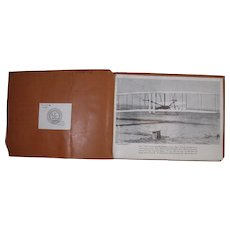 1943 United Airlines Special Teaching Kit for Lower Grades, Map, Pictures