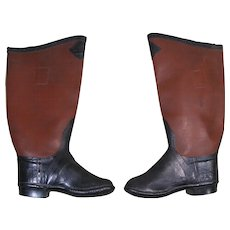 "c. 1930 Child's Rubber Boots, ""Top Notch"", Beacon Falls Rubber Shoe Co."