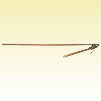 Primitive Grain Flail, Late 18th - Early 19th Century, Threshing Tool