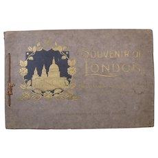 """c. 1910 """"Souvenir of London"""", 24 Artistic Views, Mezzo-Tint by Millar & Lang"""