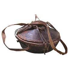 Old Ethiopian Agelgel Food Basket