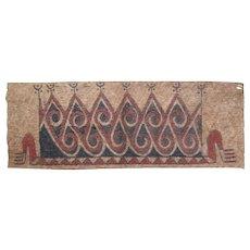 Tree Bark Painting (Maro), Sentani - Jayapura - Papua, New Guinea