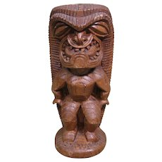 1960s Hawaiian Tiki, Hapa-Wood, by Coco Joe's, HW137