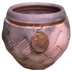 Cherokee Pottery Friendship Pot by P.J. Gilliam Stewart
