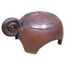 Cherokee Pottery Turtle, by P.J. Gilliam Stewart