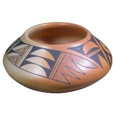 Hopi Pot by Bertha Tungovia, Polacca, AZ, Tewa