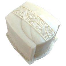 Vintage Art Nouveau Celluloid Engagement Ring Box