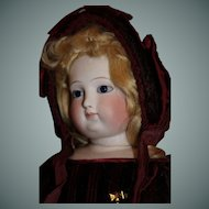 Very Beautiful Fashion Doll, French c. 1880's, 24 inches