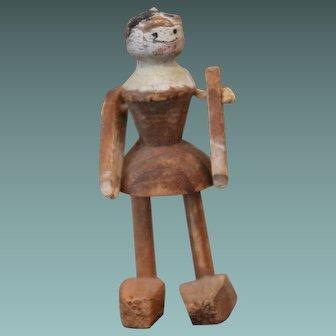 Tiny Wooden Doll, TLC