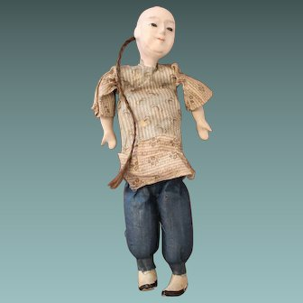 Antique Chinese Boy Doll