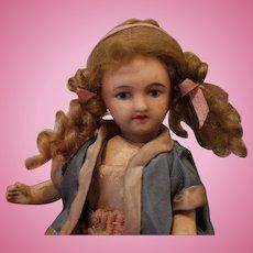 SFBJ, Unis France, Bisque Head Little Doll