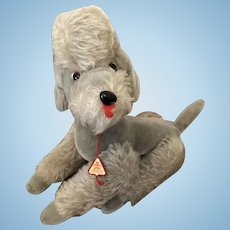Adorable Clement Grey Jointed Poodle