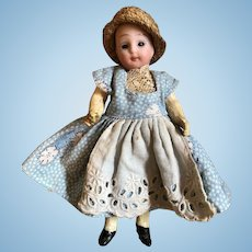 Small Johann Walter & Sohn Child Doll, 5 inches