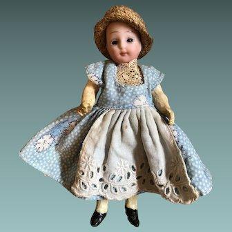 Small Johann Walter & Sohn Child Doll, 5 inches