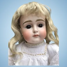 Wonderful Early Kestner XII Pouty Child Doll, 20 inches