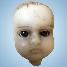 Project Early Poured Wax Doll Head