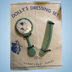 Collection of Vintage Dolls Accessories