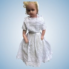 Gorgeous Marked Lucy Peck Poured Wax Doll