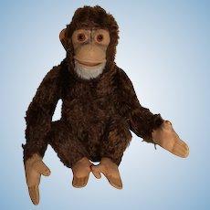"Steiff Jocko Chimp, Monkey, 13"""
