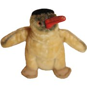 Characterful Steiff Peggy The Penguin, 5 inches, no tags