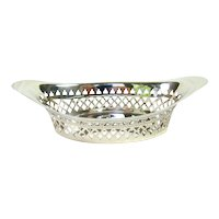 Antique Sterling Silver Bowl, 1904.
