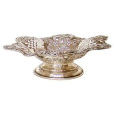 An Attractive Victorian, Sterling Silver Chocolates/Nut Bowl 1900.