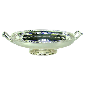 A Vintage Silver Fruit Bowl, 1929.