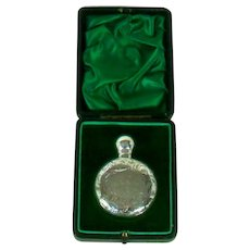 An Antique Silver Cased Perfume Bottle, 1905.