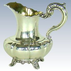 An Early 19th Century Antique Silver Milk Jug, 1837.