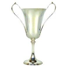 Art Nouveau Styled Antique Silver Cup, 1912.