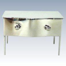 Stylish Antique Sterling Silver Trinket/Jewellery Box, 1909.
