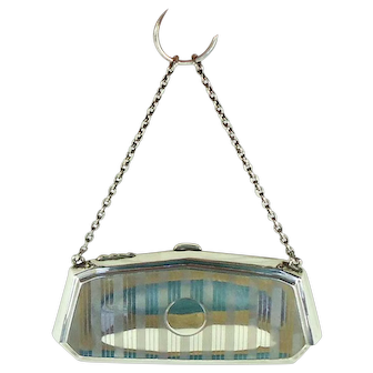Art Deco Sterling Silver Purse,1938.