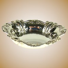 Vintage Sterling Silver Pin Dish, 1946.