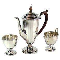 Vintage Sterling Silver Coffee Set, 1925.