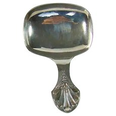 Antique Sterling Silver Tea Caddy Spoon, 1909.