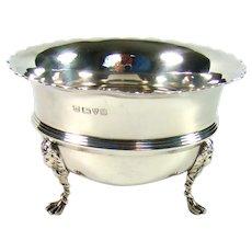 Antique Sterling Silver Sugar/Nut Bowl, 1911.