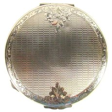 Vintage Compact. Sterling Silver, 1954.