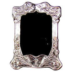 Good Quality Vintage Sterling Silver Photograph Frame, 1999.